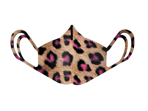 Mascherina - Leopard Neon