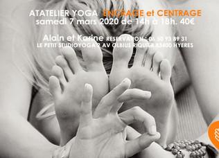 Atelier Yoga Ancrage & Centrage- 07/03