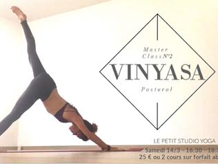 Master Class Vinyasa N°2 - Yoga Postural 14/03