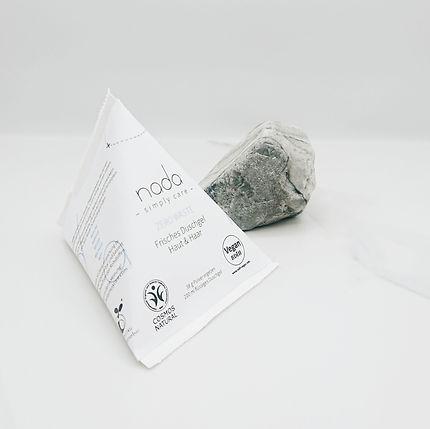 Flüssiges Shampoo & Duschgel in kompostierbarer Verpackung