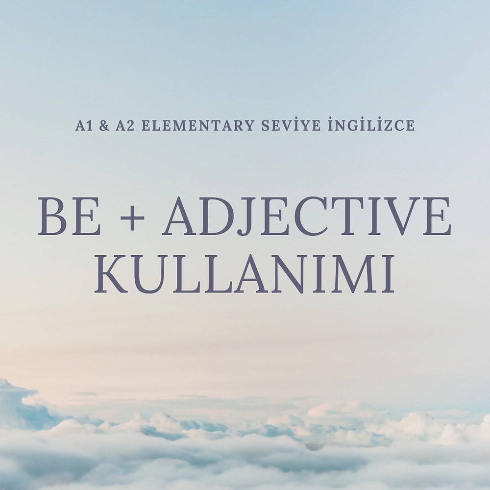 be + adjective
