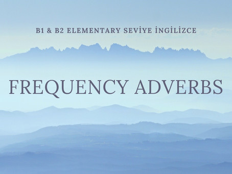 Frequency Adverbs in Simple Present Tense