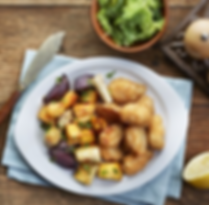 Warming scampi with rainbow roasts.png