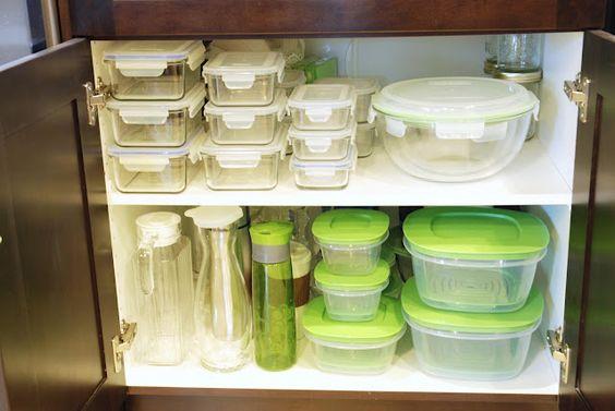 organizar potes na cozinha