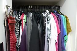 Quarto casal- armário organizado