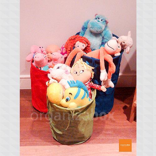 Saco Organizador de Brinquedos Grande