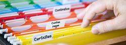 Organize seus documentos