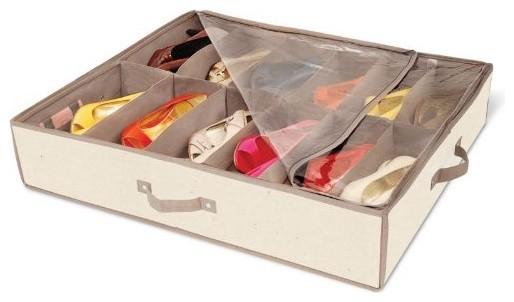 Organização de sapatos