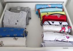 pijamas - armario organizado