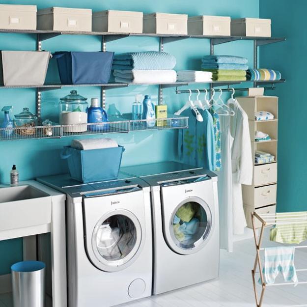 organização de lavanderia