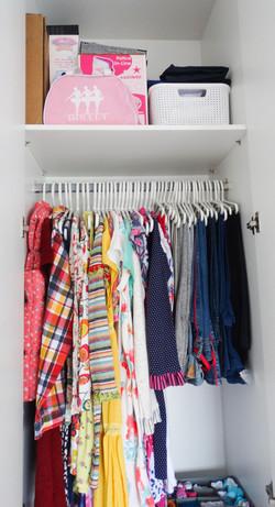 armario organizado
