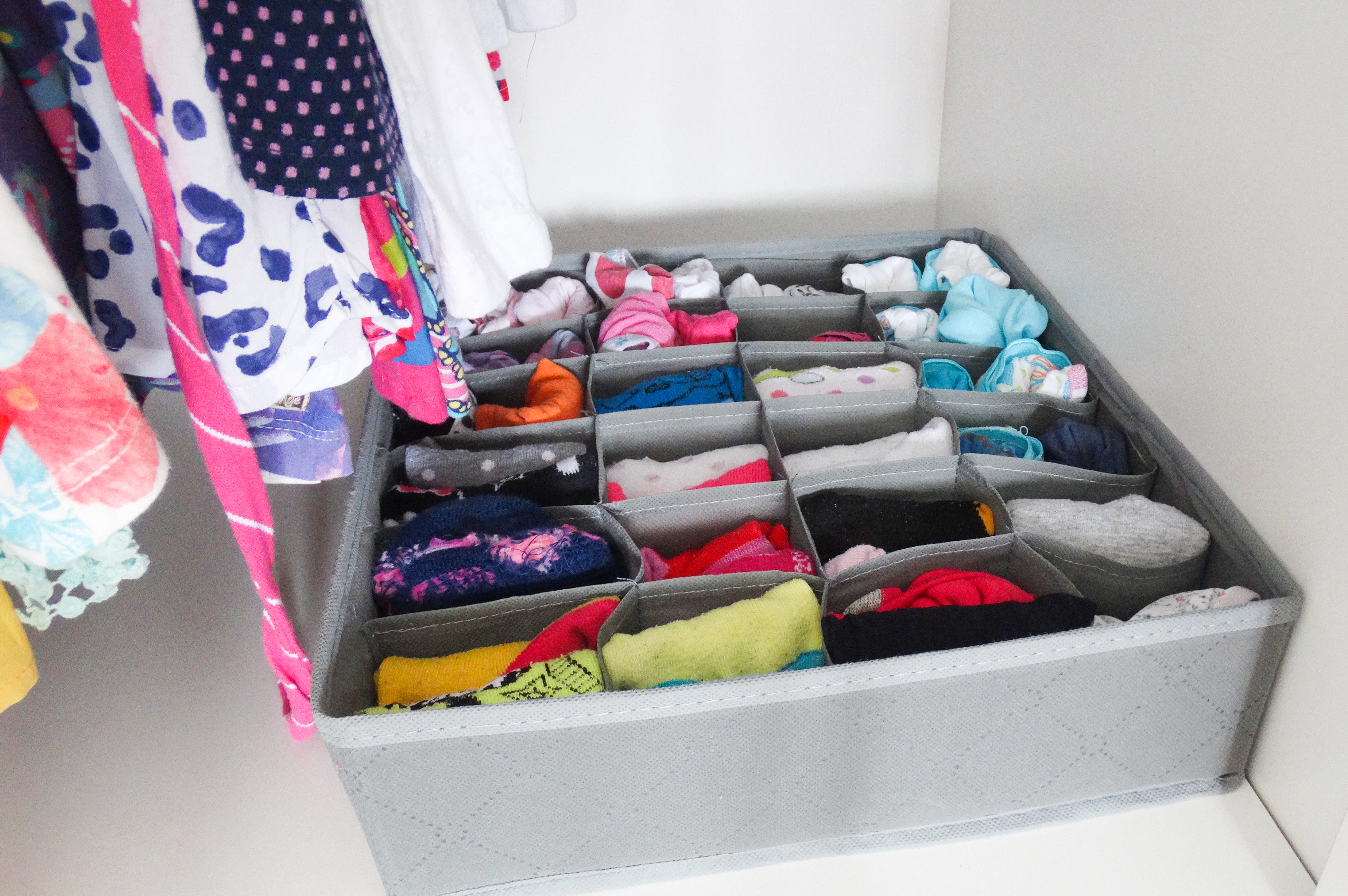meias  - armario organizado