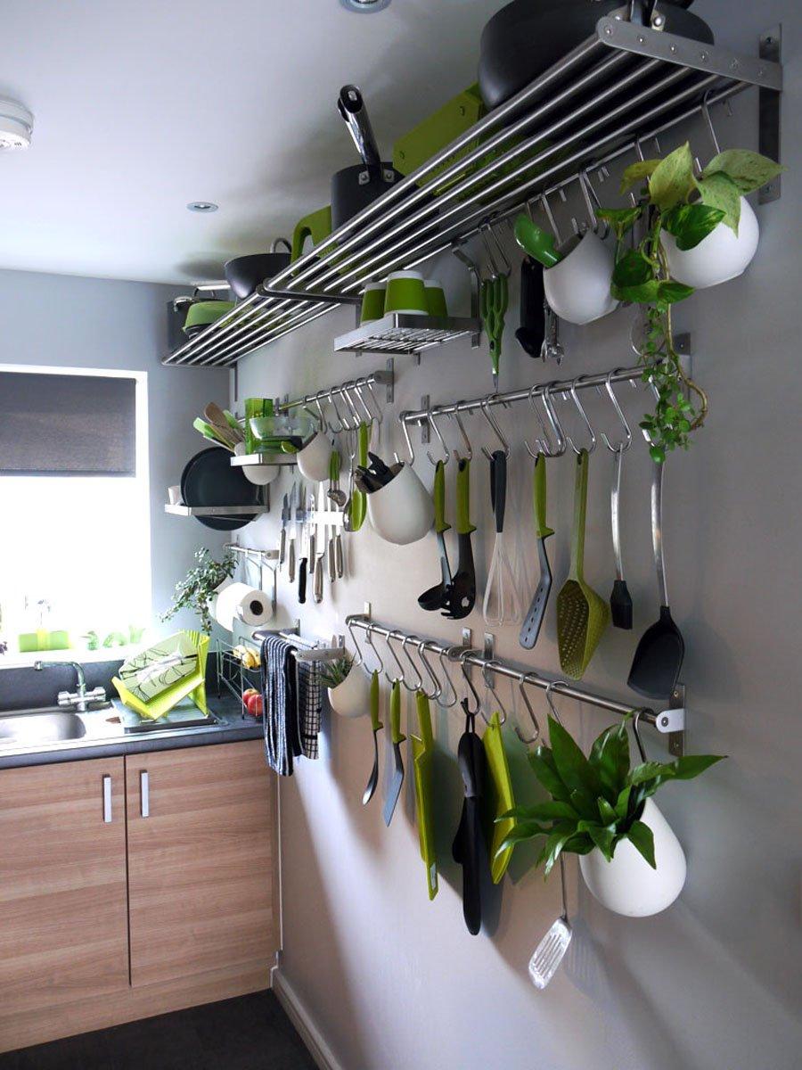 otimização de espaço cozinha