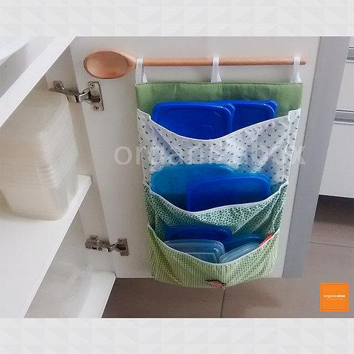 Organizador para tampas de potes