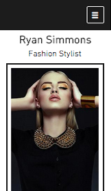 Photographie website templates – Styliste de Mode
