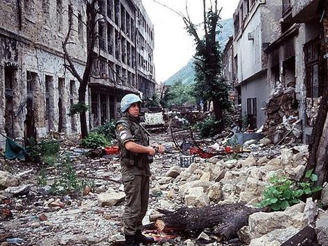 Hace 25 años caminé por una Zona de Guerra.