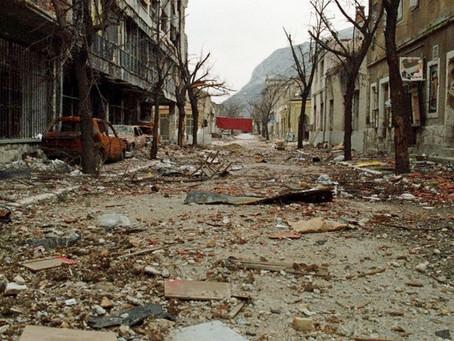 25 Years Ago I Walked through a War Zone