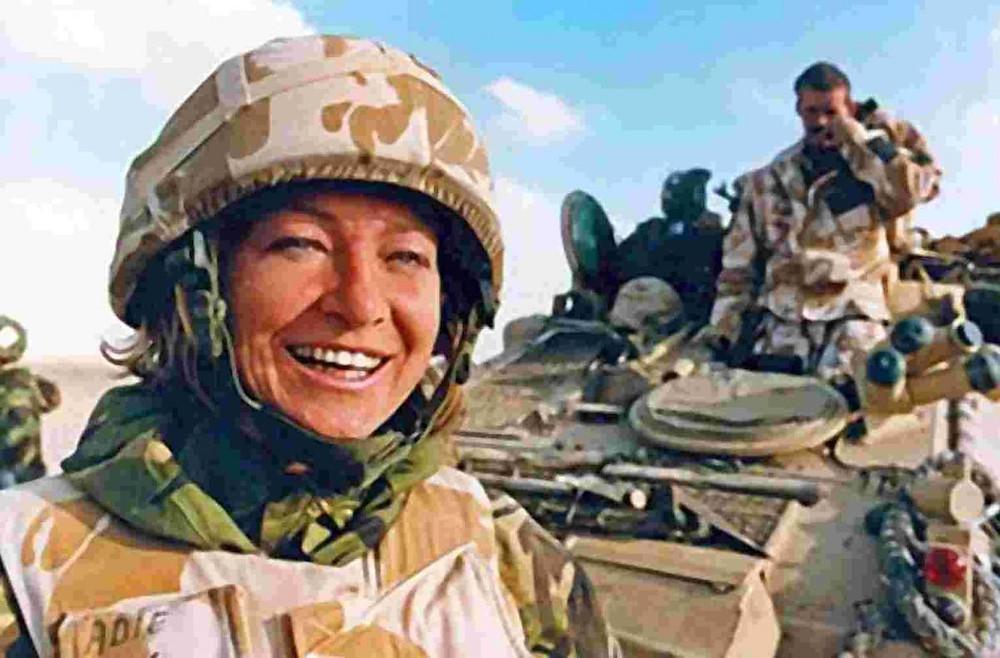 BBC War Correspondent, Kate Adie