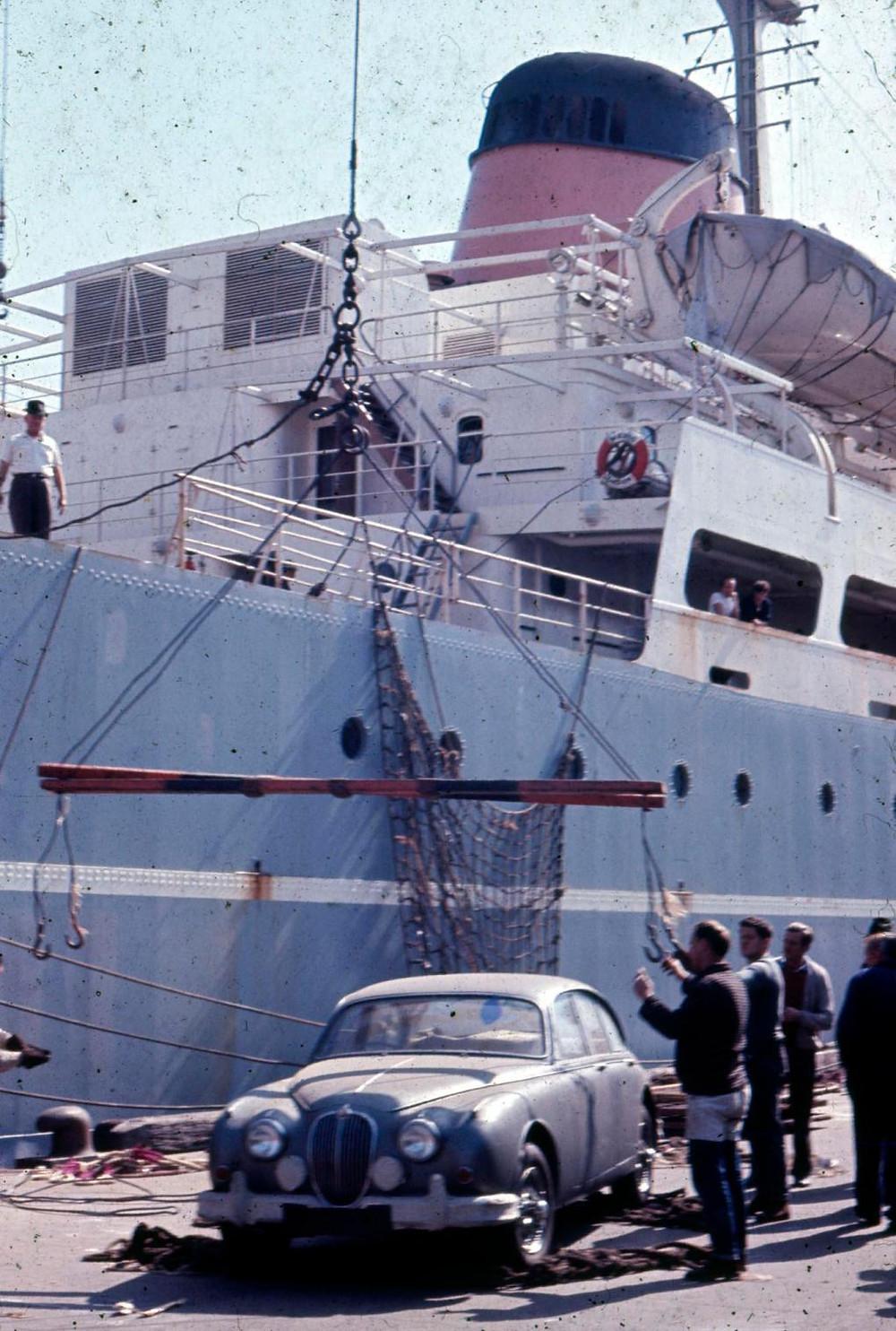Earthwalker Shaw Saville Ship Jaguar