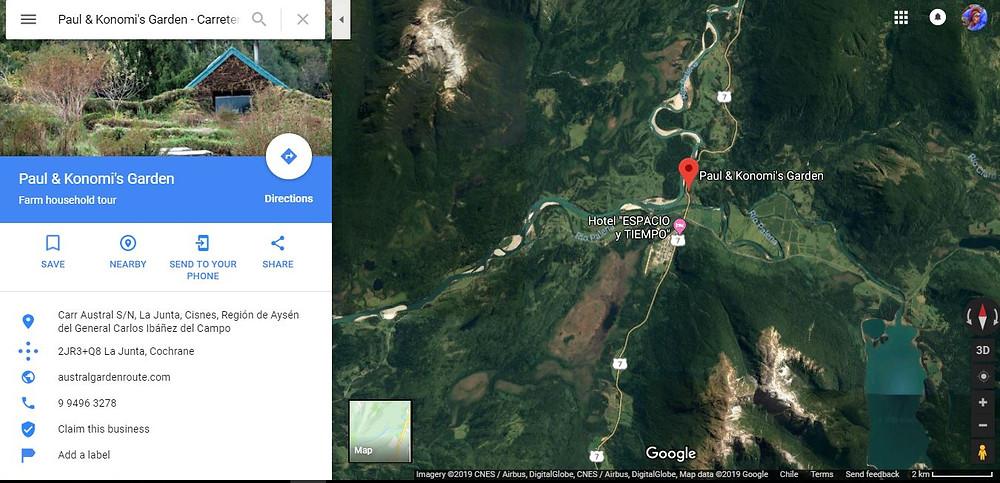 Paul Konomi's Garden Carretera Austral La Junta Austral Garden Route