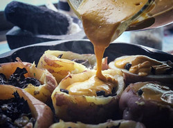 Potatoes Stuffed With Mushrooms