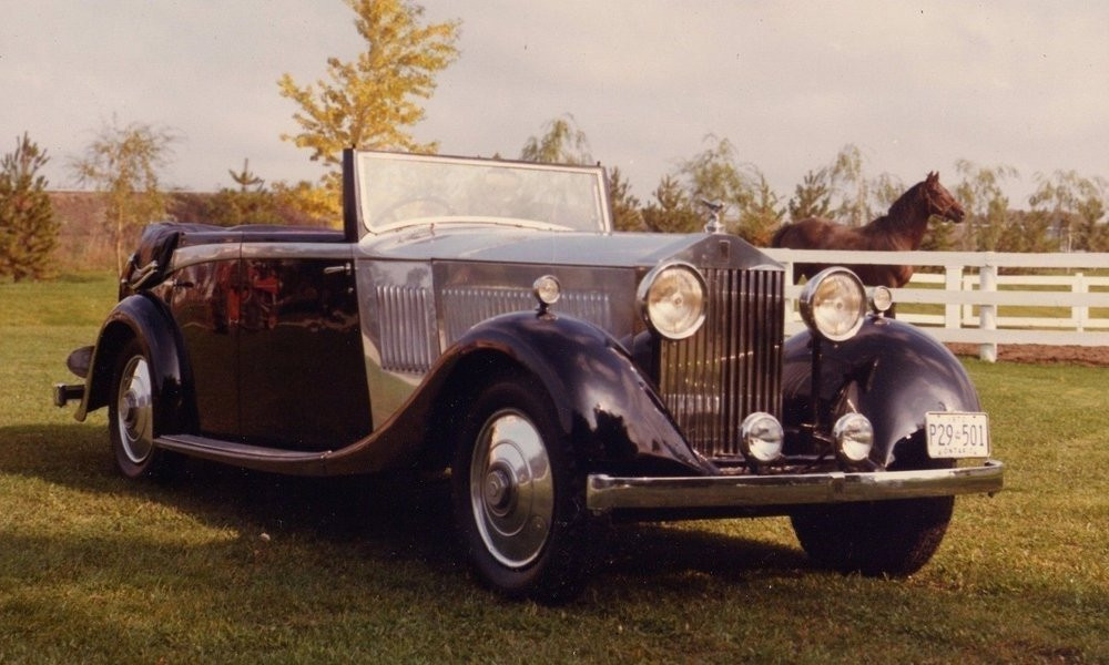 1934 Rolls Royce Touring Continental