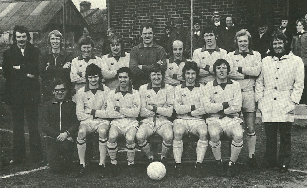 Plymouth Argyle FC Football Team 1975