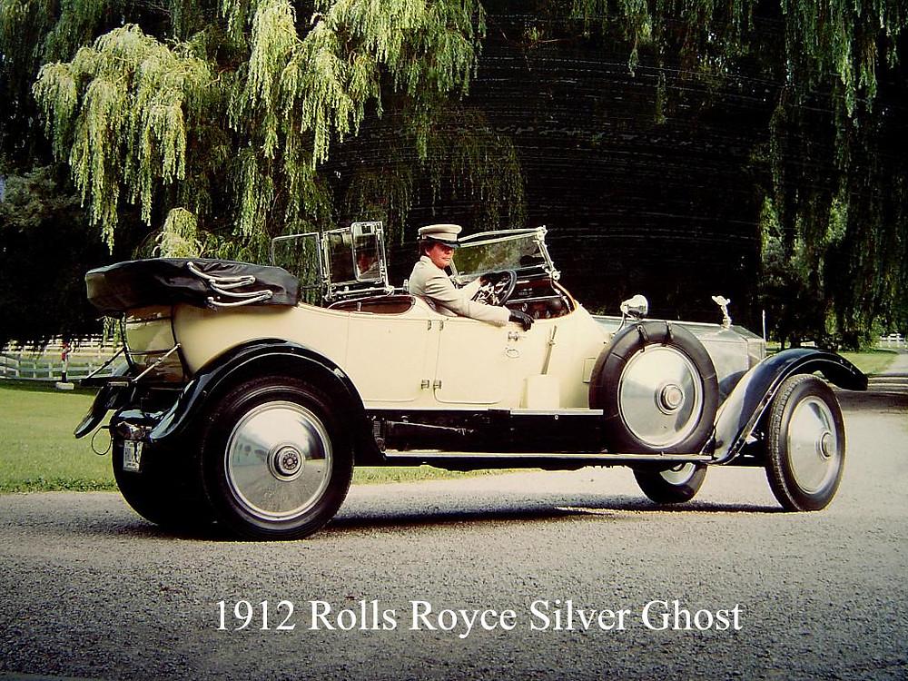 Paul Coleman Chauffeur in Mrs. J. A. McDougald 1912 Rolls Royce