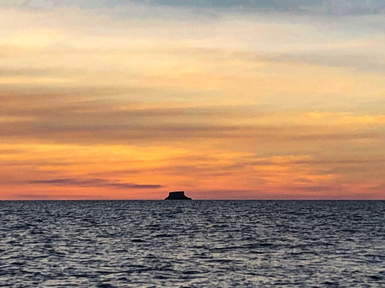Mayorguita sunset natural monument
