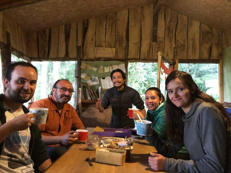 Aonikenk Karho Happy Guests