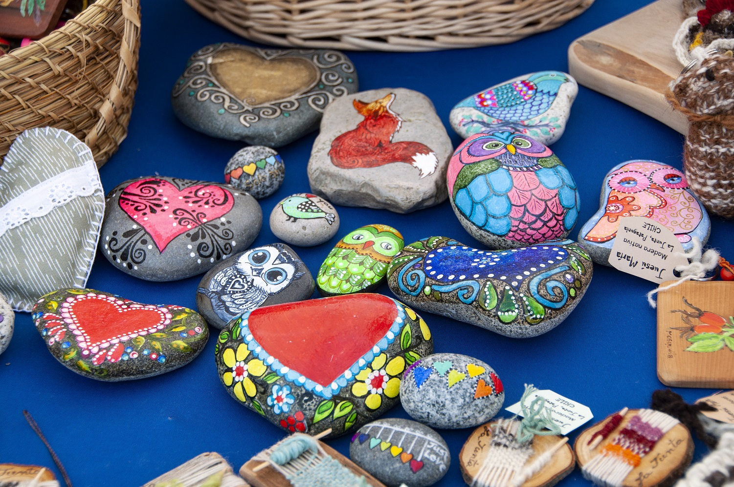 Happy Painted Rocks