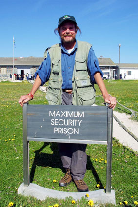 Earthwalker Paul Coleman: Robben Island Maximum Security Prison is now a Memorial and Museum