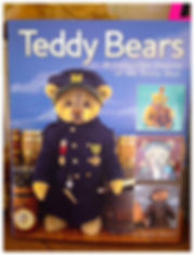 Teddy Bears, A collectible history of the teddy bear, book, Katy Martin