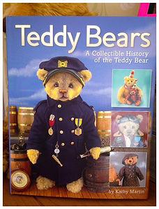 Teddy Bears, A collectible history of the teddy bear, book, Katy Martin