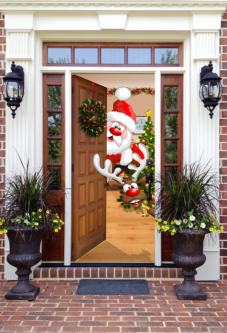 garage door wrapsGarage Door Decorations  My Door Decor