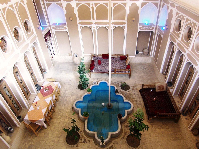 ヤズド Fahadan Hotel