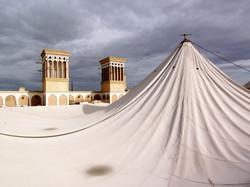 ヤズド バードギール 風採り塔