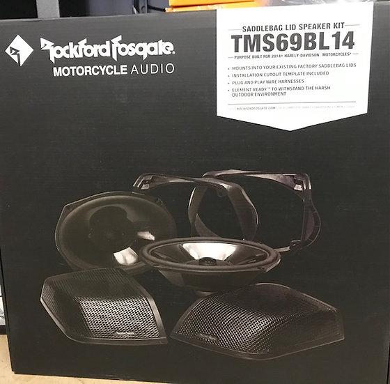 Rockford Fosgate Speaker Lid Kit TMA69BL14