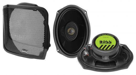 BOSS BHD98 Speaker lid kit for 98-13 Harley Baggers