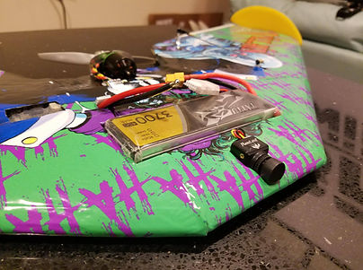TBRC Apex - Mini Race Wing. Small FPV wing designed to be a small, fun, park flyer