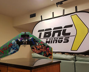 TBRC Apex, 700mm flying wing, fast, small, nimble, agile, amazing. Mini Race Wing. Miniracewing
