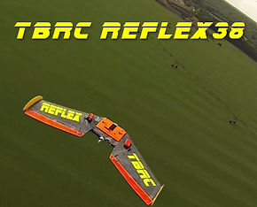 TBRC Reflex - The ultimate FPV racing wing. It's more than just a flying wing airplane