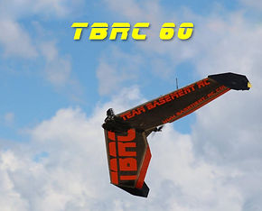 TBRC60. The best large flying wing for FPV. It's more than just a plane