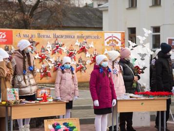 Выставка с участием Губернатора Пензенской области.
