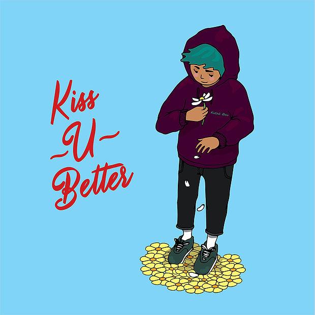 kiss u better - Artwork By Valentina Zap