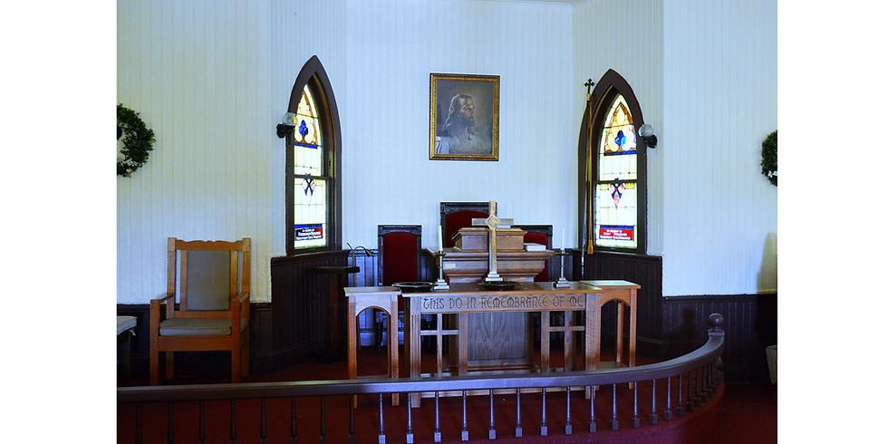 Schedule a Tour of St. John's Chapel