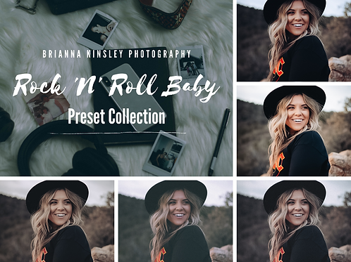 Rock 'N' Roll Baby Lightroom Preset Pack