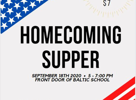 Homecoming Supper by Baltic Music Boosters