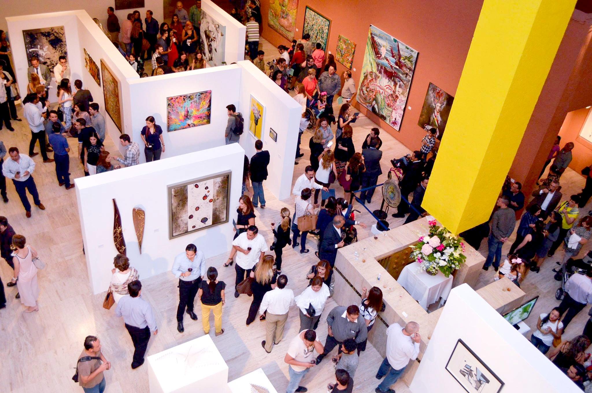 Art exhibit at MARCO