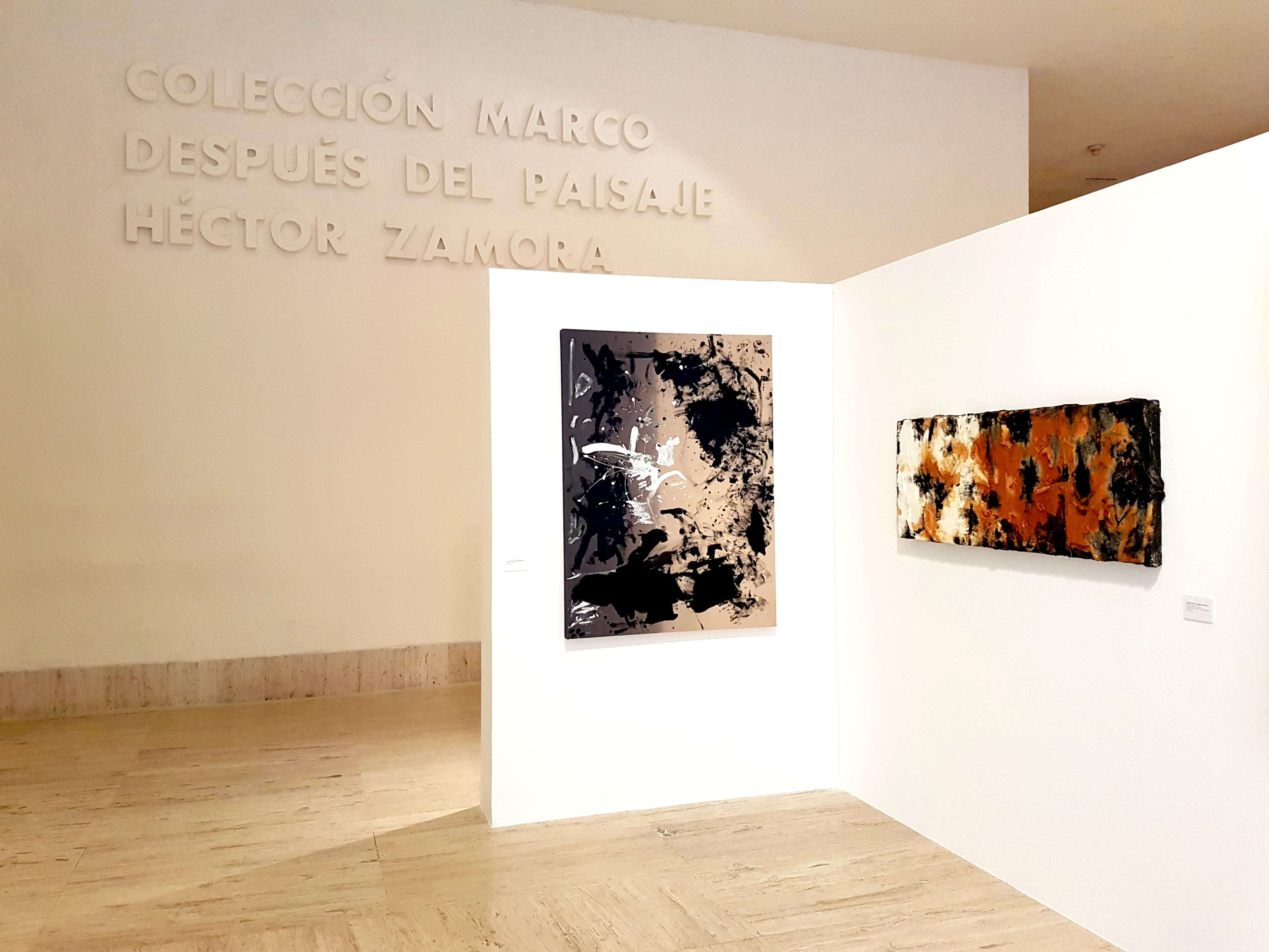 Art exhibit in MARCO